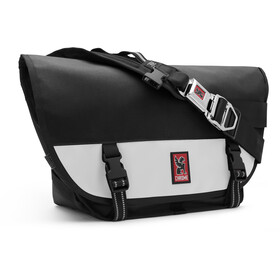 Chrome Mini Metro Messenger Bag, black/white
